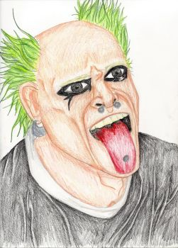 Keith Flint by Ellas-Sunshine