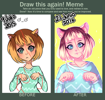 Meme: Draw This Again! by K-PY