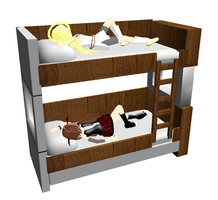 MMD-Bunk Bed DL by Shioku-990