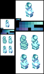 Pixels from the golden sun (4/10) - Crystal by Sairmeroc