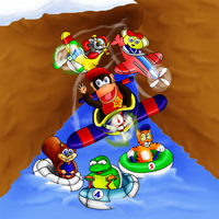Diddy Kong Racing by aka-Best