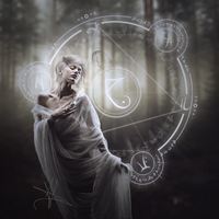 The Witch of Endor by AlexandriaDior
