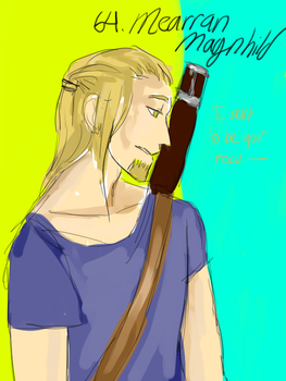 Magnhild by thoughtapprentice