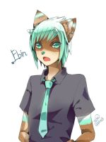 Commission-Ebin by christon-clivef