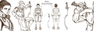 Character Concept: Max by Bouxjie