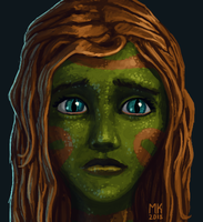 Portrait of a Naga by SquidGames