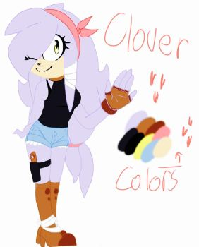 Clover the echidna by Cookiefan-yum