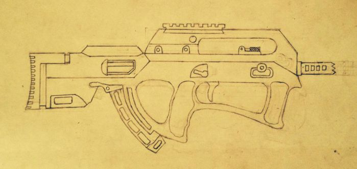 Special forces smg by prodoomer1