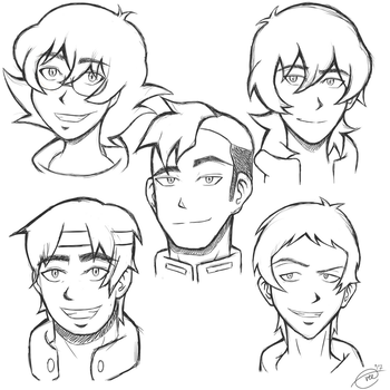Form Voltron! by eveepika