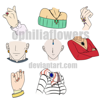 .:Jewelry References:. by Ophiliaflowers