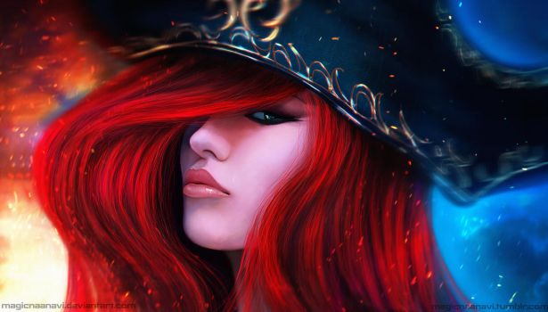 Miss Fortune by MagicnaAnavi