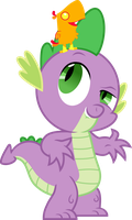 Spike and Peewee by ZanderalS