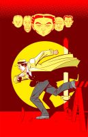 Dick Tracy by sharpbrothers