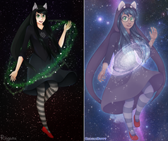 Galaxy Gal Redraw by Ringamon
