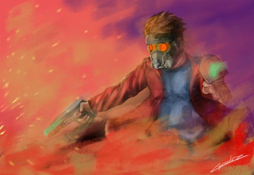 Star_Lord by PeterMiles