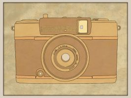 Hand Drawn Sketchy Camera by thelfie