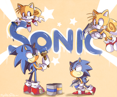 I'm Sonic, Sonic the Hedgehog by Ipun