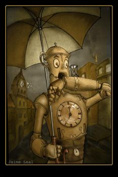 Out of Time Mr Robo? by Tatuno