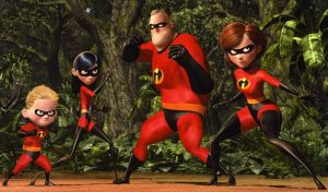 Top 10 CGI movie: Place 8- The Incredibles by CrispinVCampion