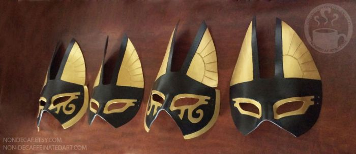 Quartet of Anubis Mask by nondecaf