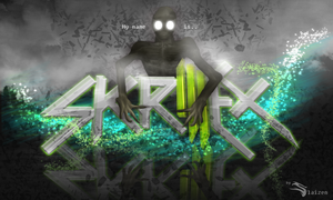 Skrillex Wallpaper by Slaizen