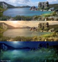 Matte Painting by quirkypink