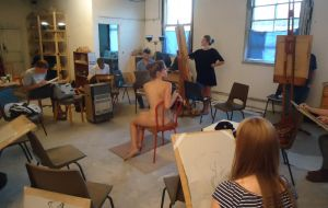 Hen Party Body Painting Gallery