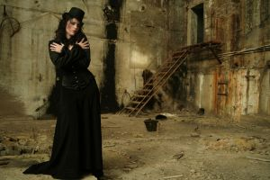 Madame Morte stock III by Ykara-Stock