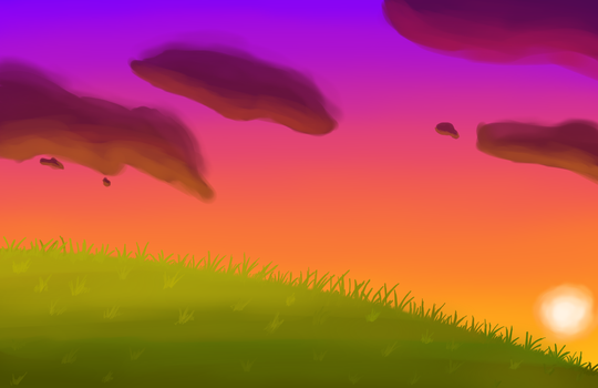 Sunset At The Hill by TCSunshine0
