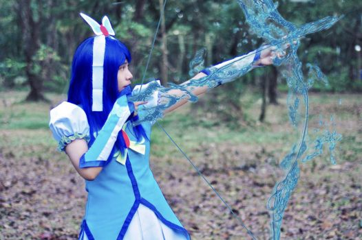 Sapphire Arrow by JustineRells